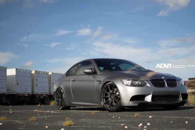 BMW E92 M3 On ADV1 Wheels 4 750x500