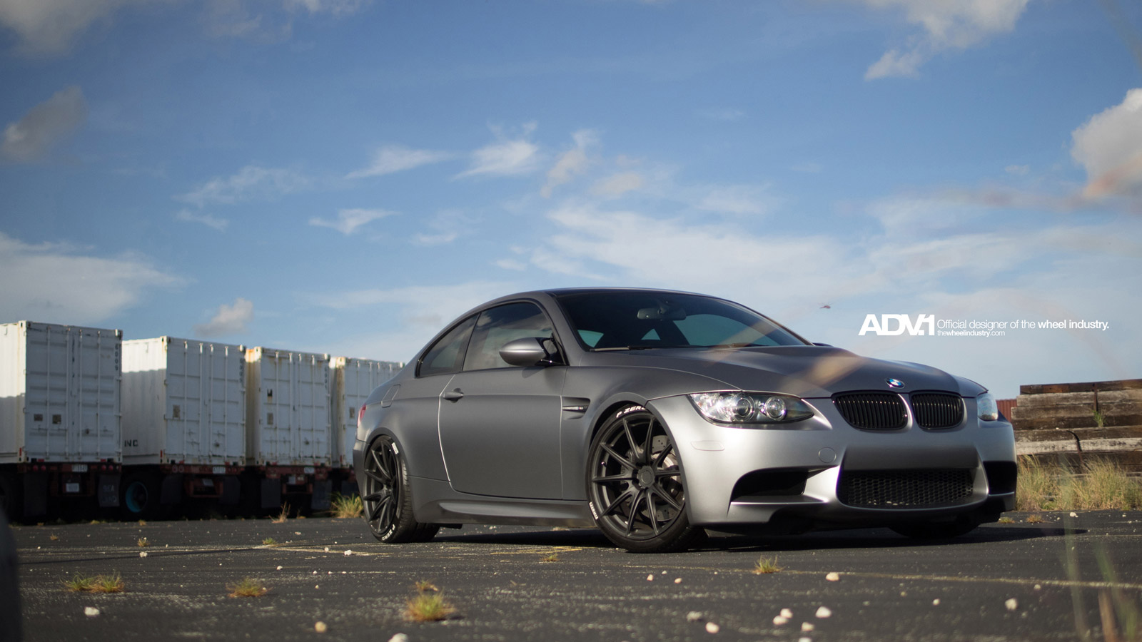 Bmw E92 M3 On Adv10 1 M V1 Superlight Series Wheels