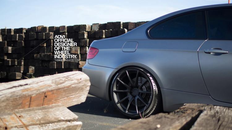 BMW E92 M3 On ADV1 Wheels 8 750x421