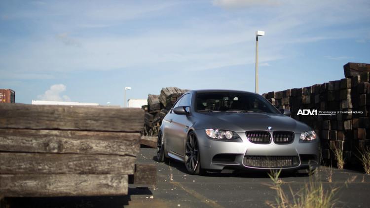 BMW E92 M3 On ADV1 Wheels 9 750x421