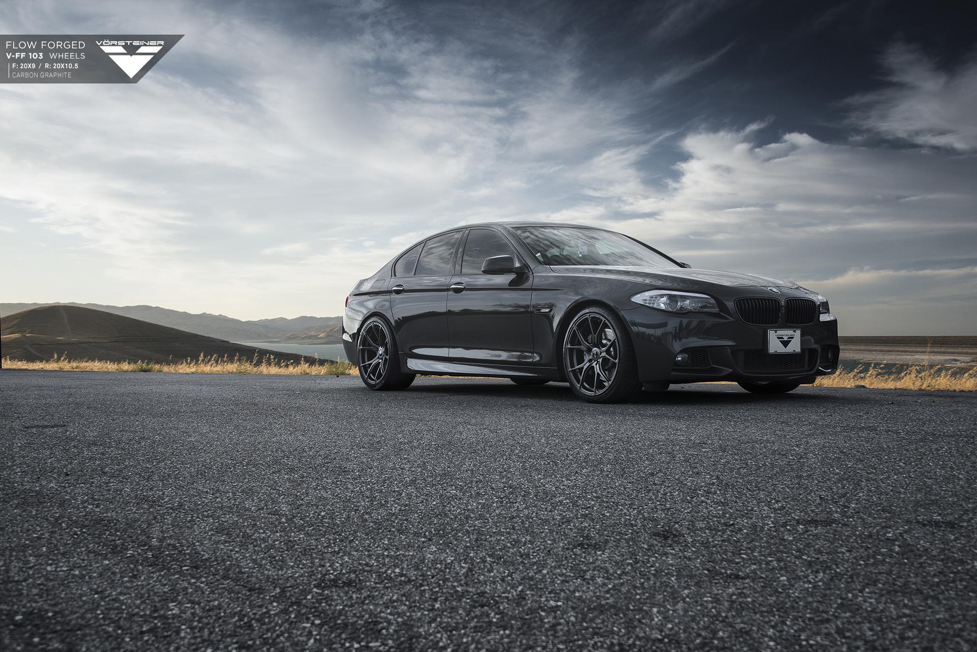 Used Bmw Z4 >> BMW F10 5 Series On Vorsteiner FlowForged Wheels