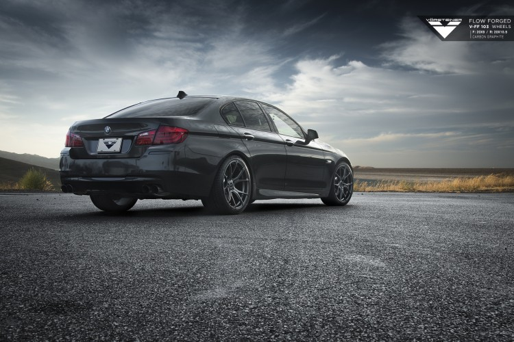 BMW F10 5 Series On Vorsteiner FlowForged Wheels 4 750x500