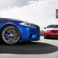 BMW F10 M5 And BMW E92 M3 With HRE Wheels