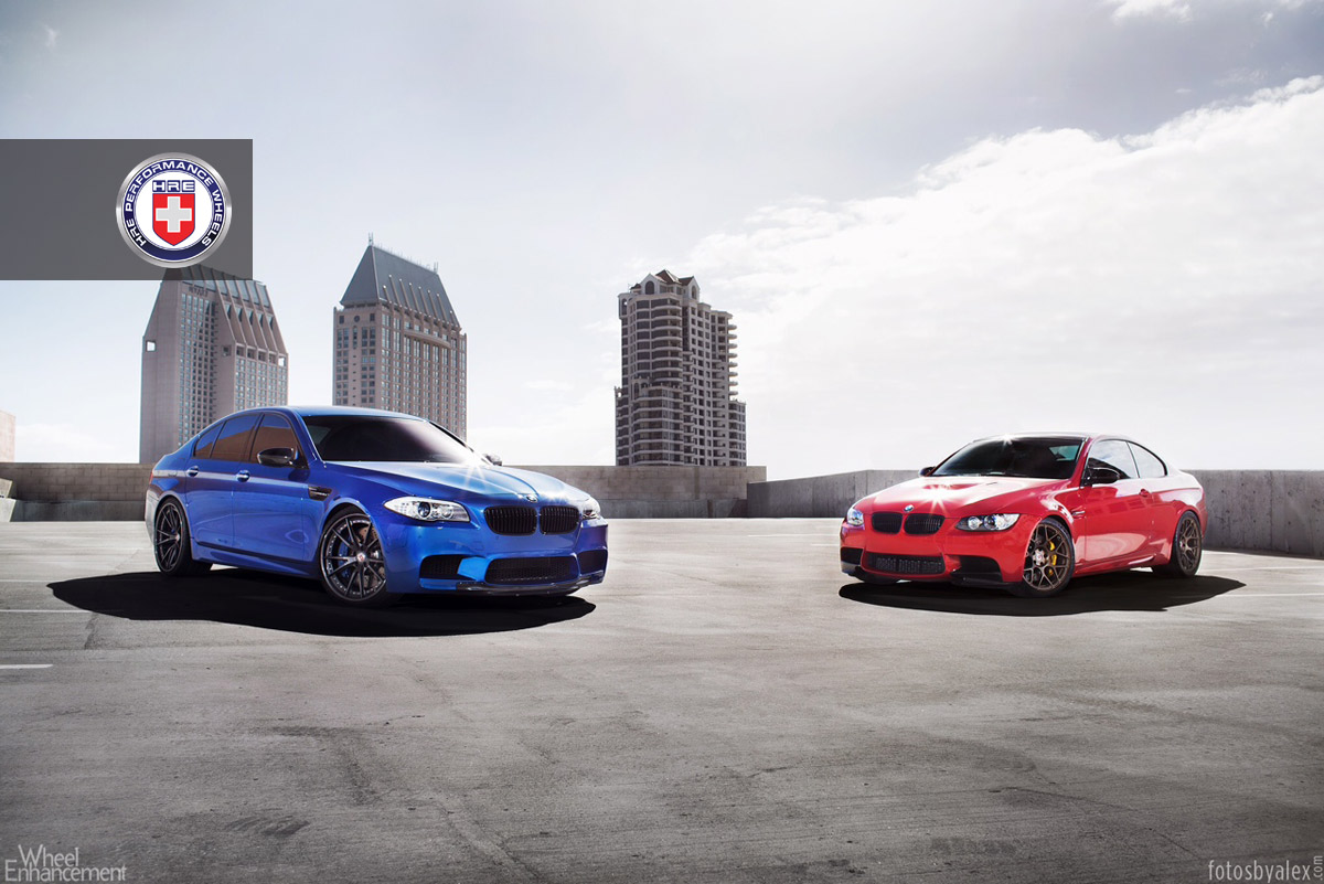 BMW F10 M5 And BMW E92 M3 On HRE Wheels 7