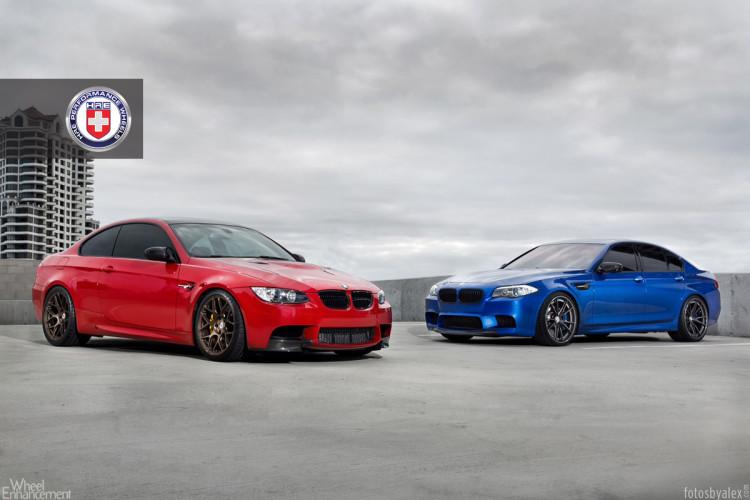 BMW F10 M5 And BMW E92 M3 On HRE Wheels 8 750x500