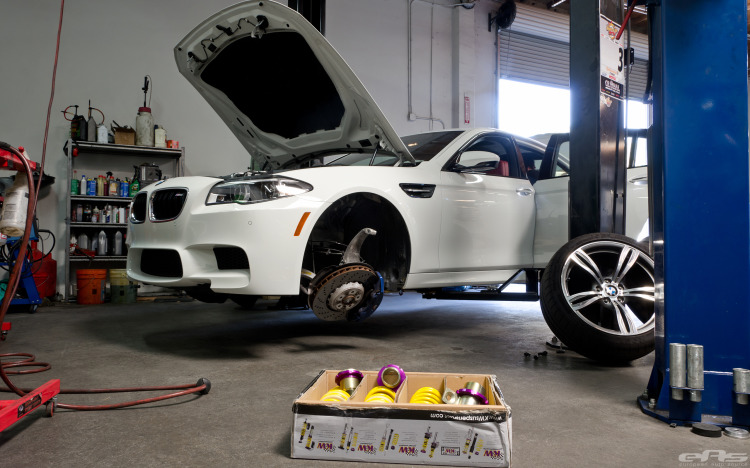 BMW F10 M5 Gets New Suspension And Wheels 1 750x468
