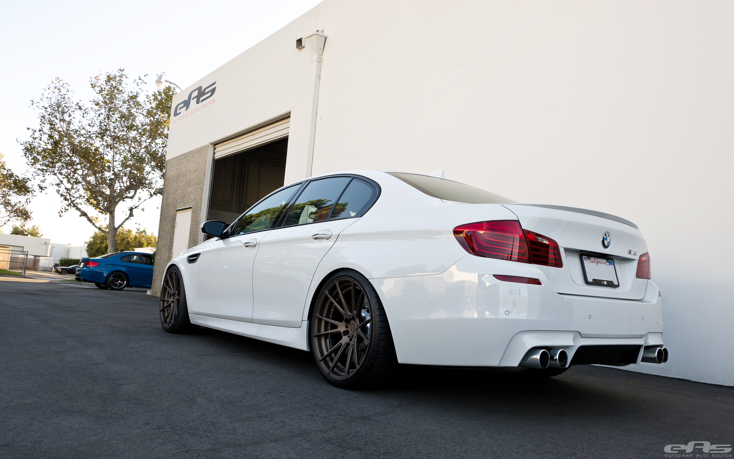BMW F10 M5 Gets New Suspension And Wheels 8