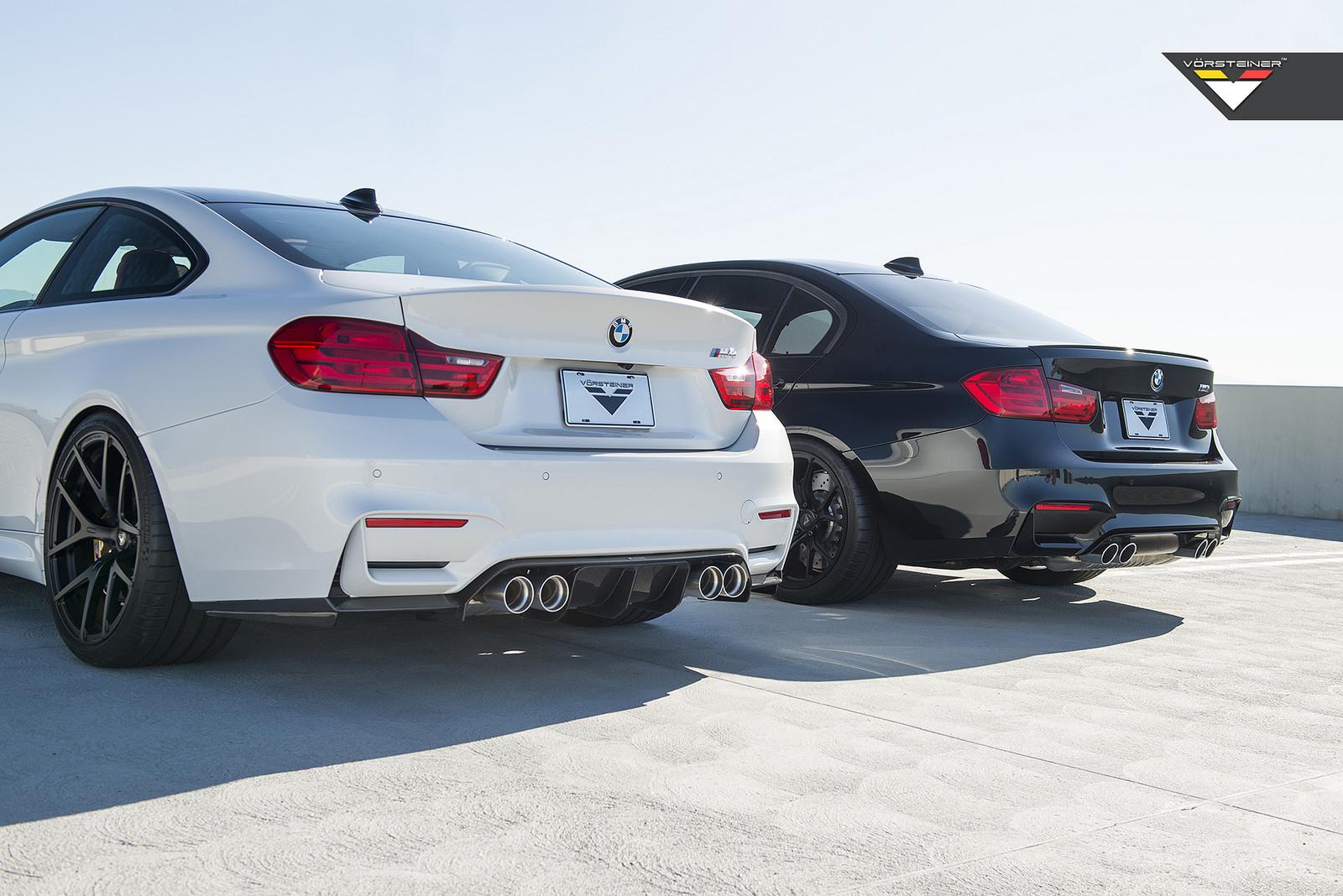 BMW F80 M3 And BMW F82 M4 By Vorsteiner Image 12