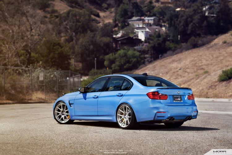 BMW F80 M3 On MORR VS52 Wheels 2 750x500