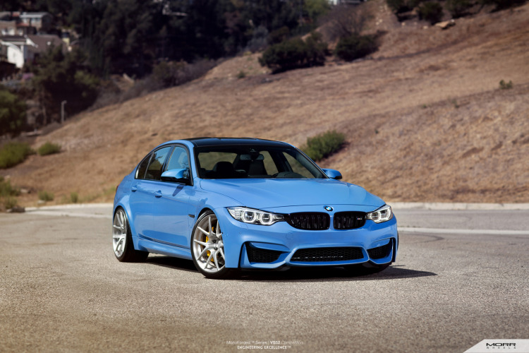 BMW F80 M3 On MORR VS52 Wheels 5 750x500