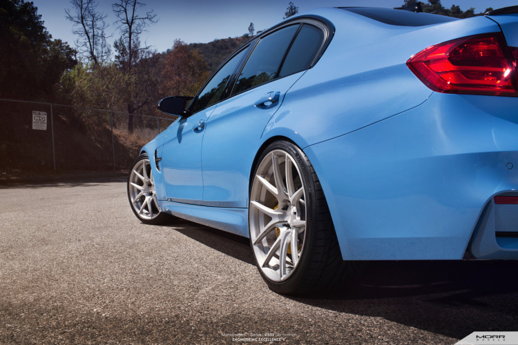 BMW F80 M3 On MORR VS52 Wheels