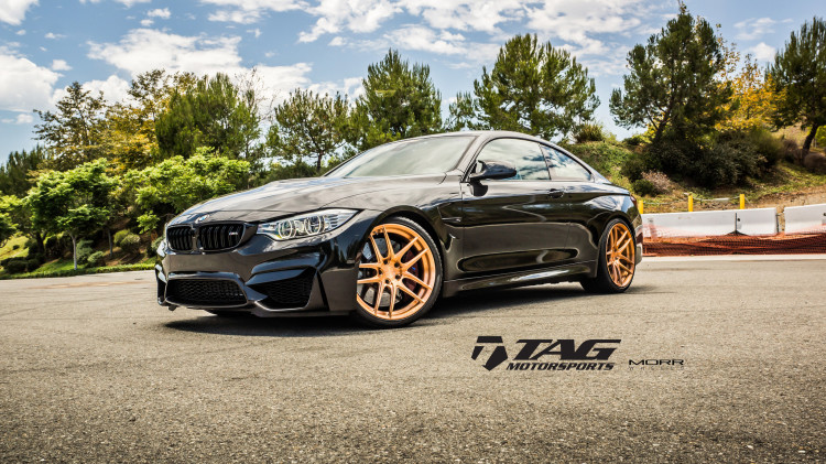 BMW F82 M4 On MORR Wheels By TAG Motorsports 6 750x421