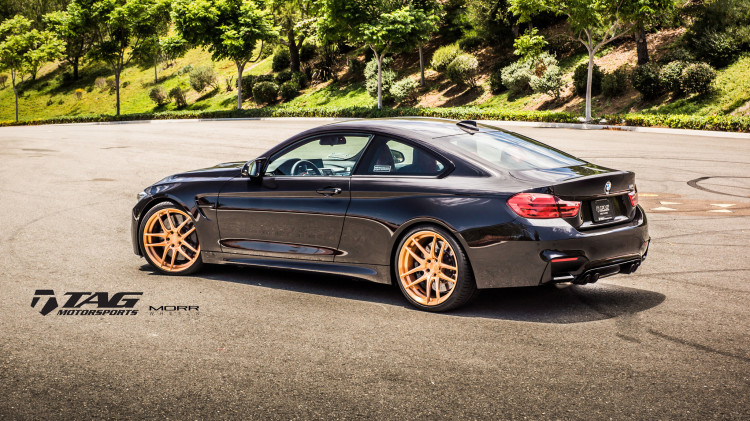 BMW F82 M4 On MORR Wheels By TAG Motorsports 7 750x421