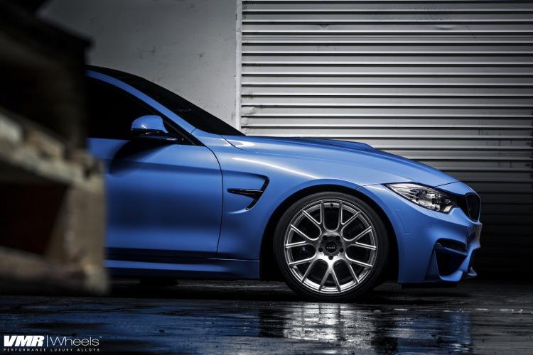 BMW F82 M4 Yas Marina Blue On VMR Wheels 2 750x500