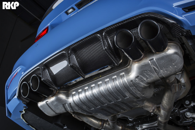BMW F8X M3 And M4 RKP Rear Diffuser Installation By IND