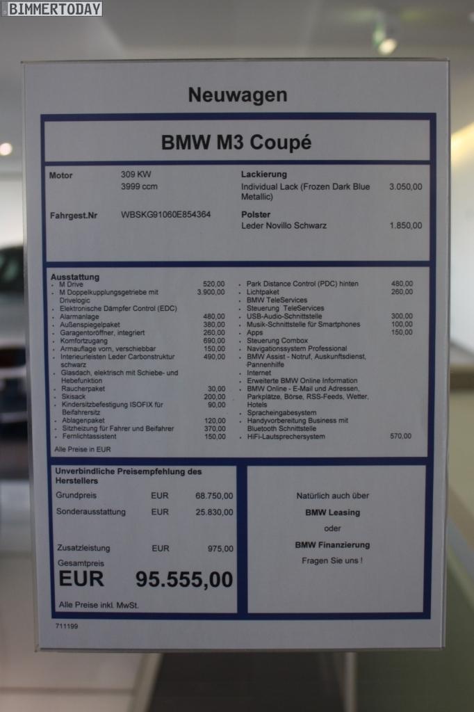Matte Grey Car >> BMW M3 in Frozen Dark Blue