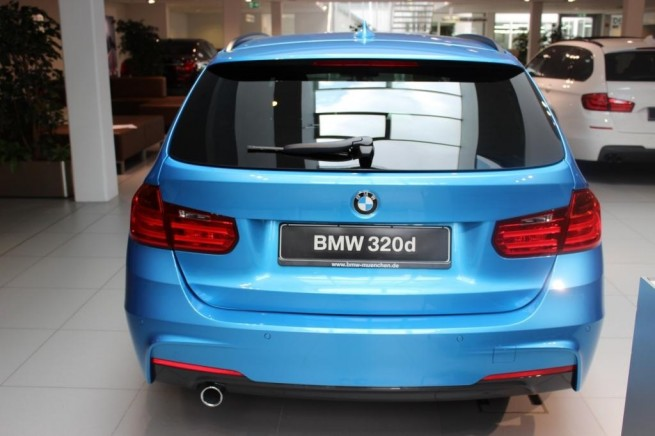 BMW Individual Kingfisher Metallic Blau 3er F31 M Sportpaket 01 655x436