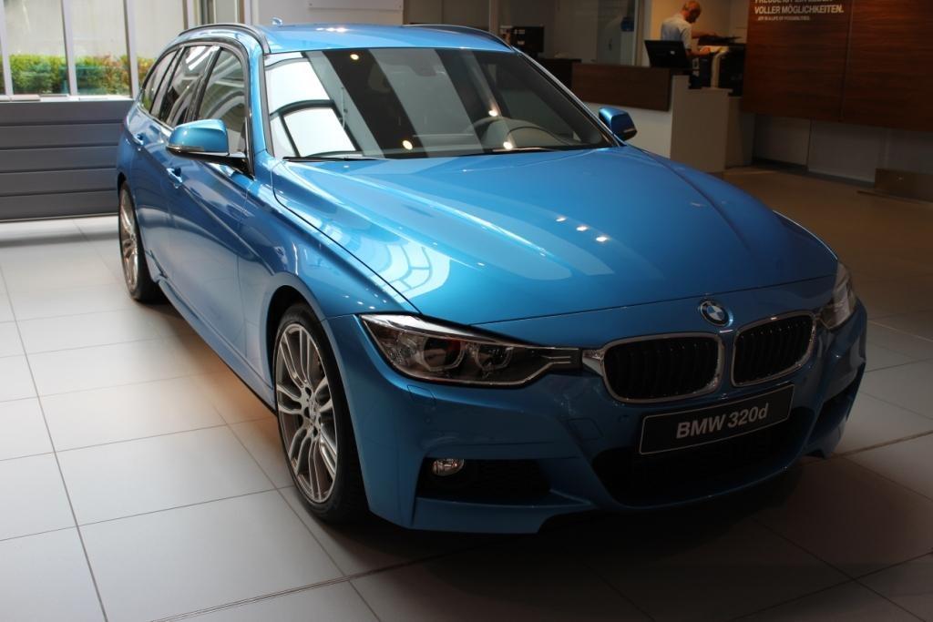 BMW Individual Kingfisher Metallic Blau 3er F31 M Sportpaket 08