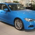 BMW Individual Pure Blue 330d F30 M Sportpaket 3er blau 09 120x120