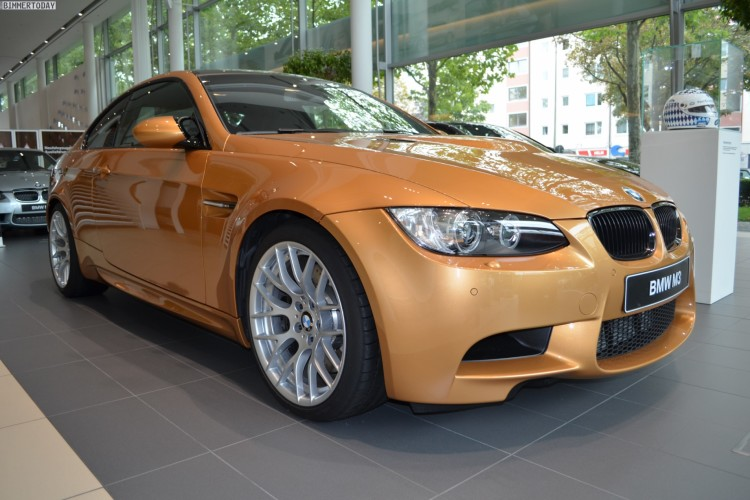 BMW Individual Sunburst Gold M3 E92 Coupe 01 750x500