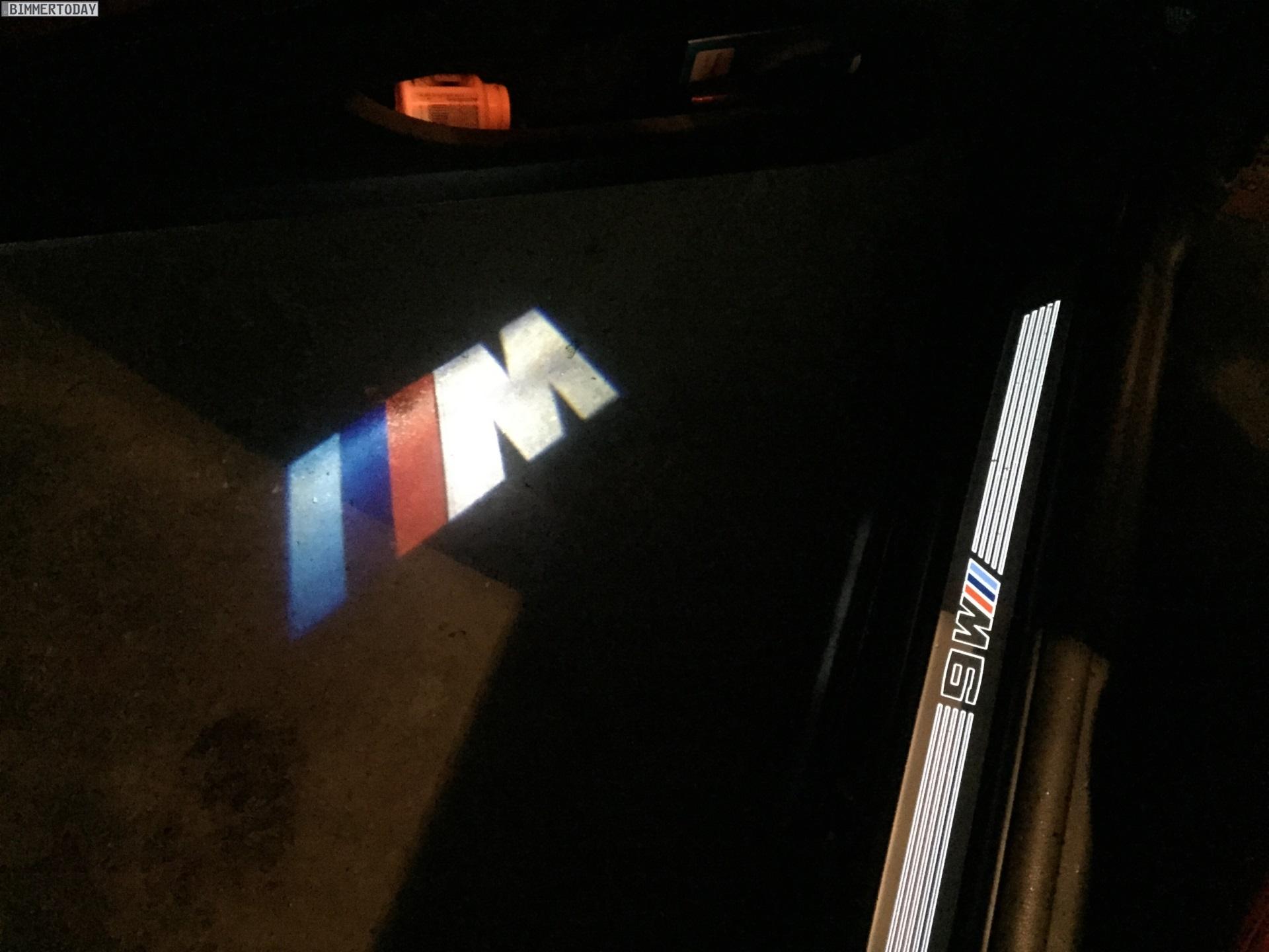 BMW LED Projektor Tuer Projektion M Logo Zubehoer LED Door Projector 01 2