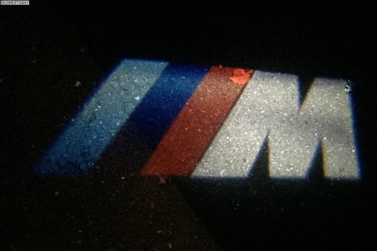 BMW LED Projektor Tuer Projektion M Logo Zubehoer LED Door Projector 07 750x500