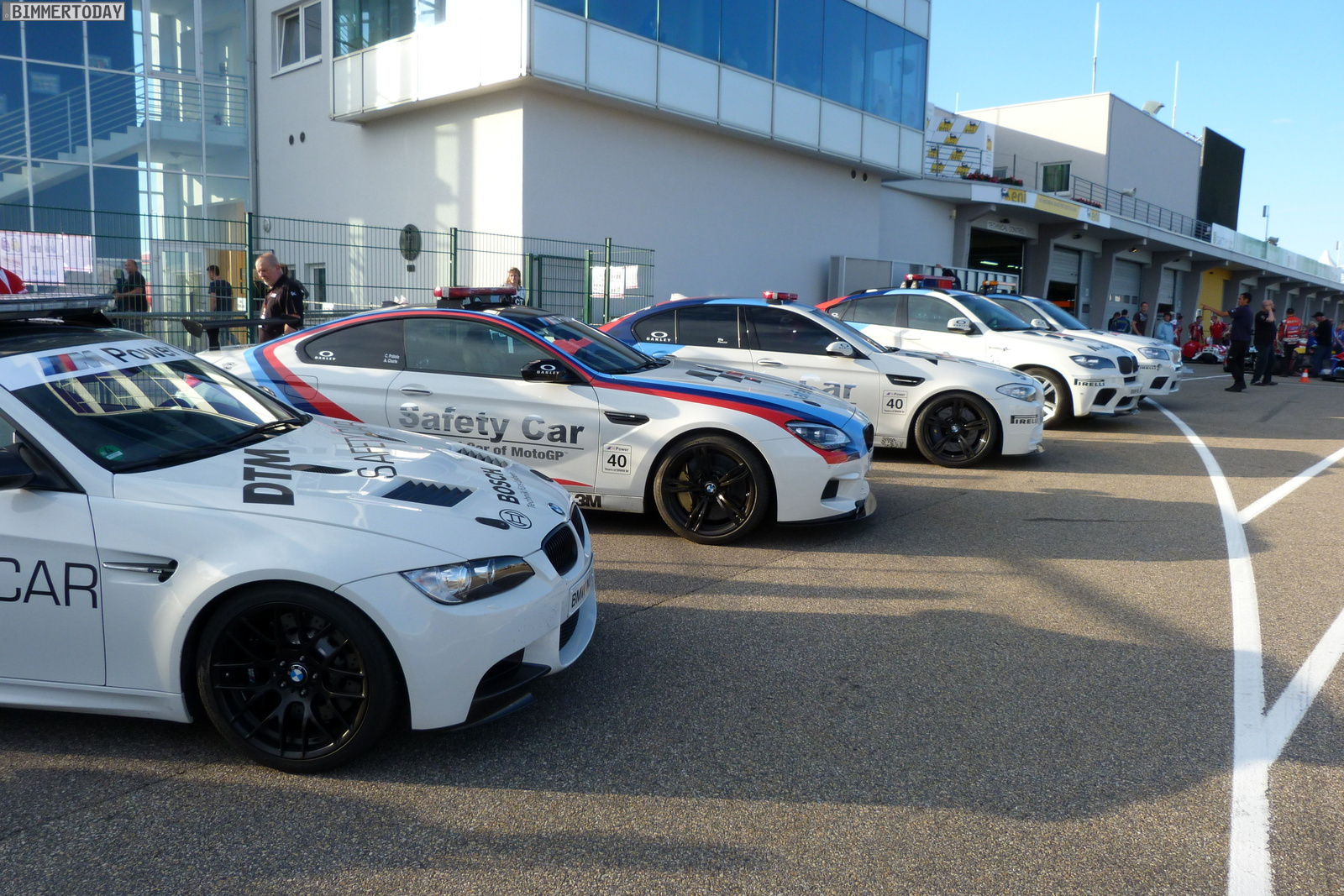 BMW M MotoGP Safety Car 2012 Sachsenring 01
