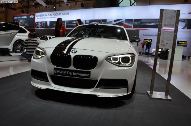 BMW M Performance 125i 1er F20 Tuning Essen Motor Show 2012 07 655x433