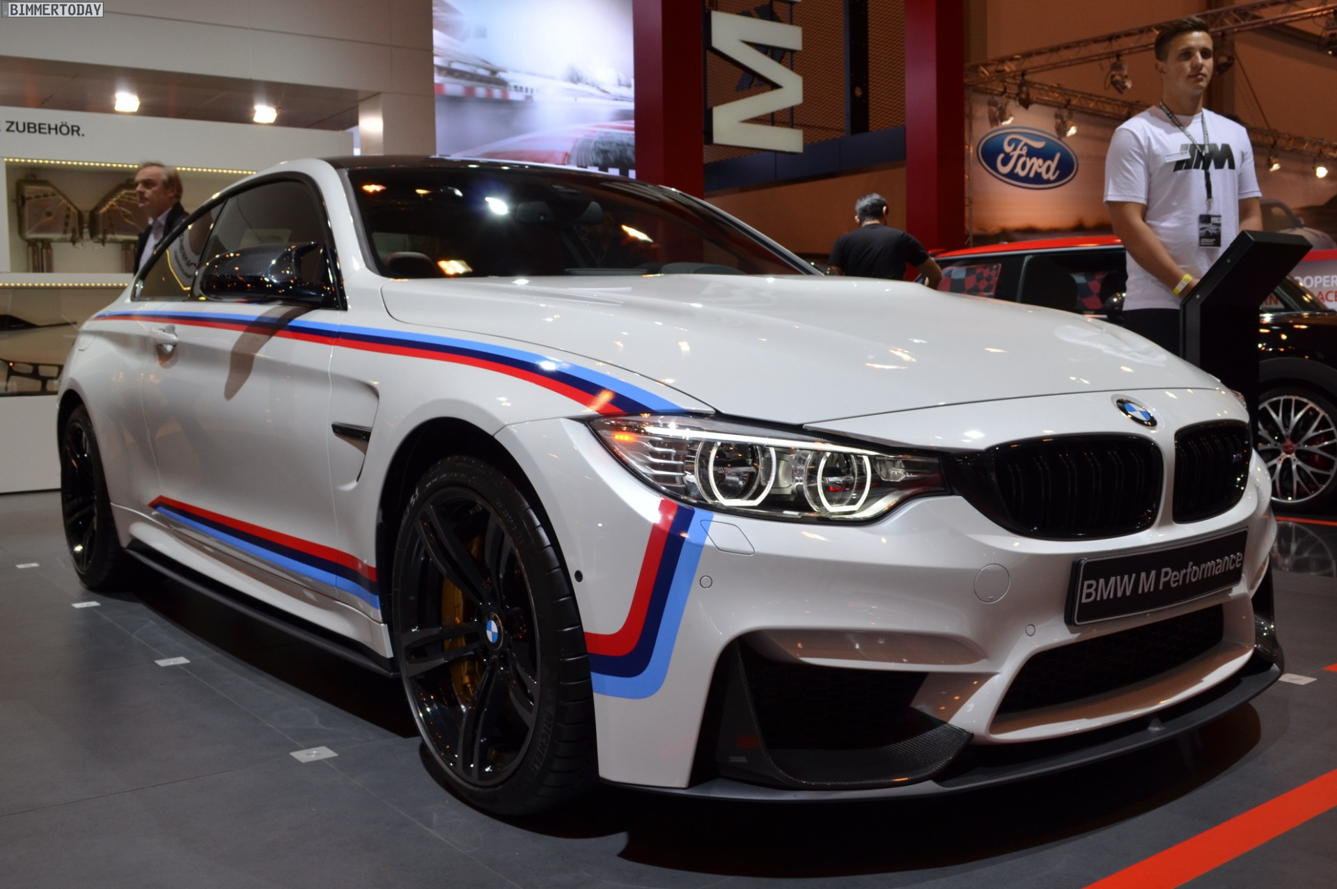Bmw F82 M4 With M Performance Accessories At 2014 Essen