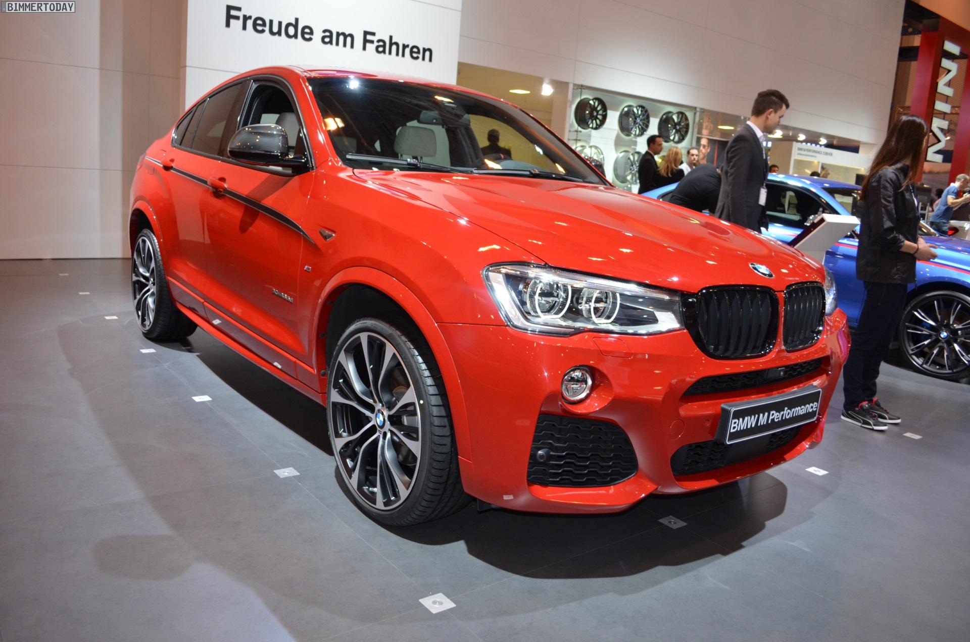 BMW M Performance BMW X4 F26 Melbourne Rot Essen 2014 01