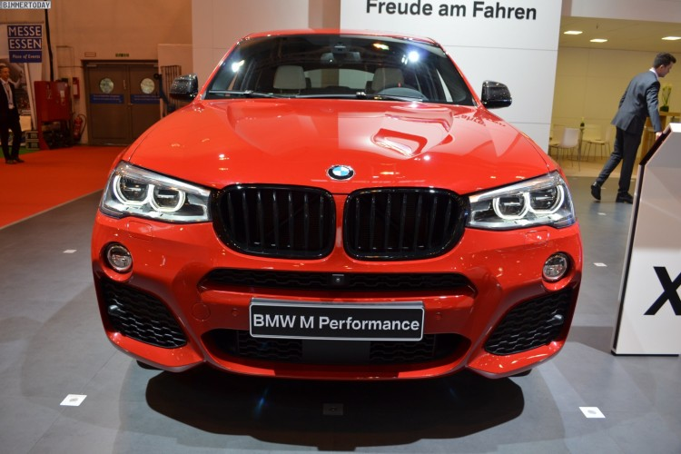 BMW M Performance BMW X4 F26 Melbourne Rot Essen 2014 03 750x500