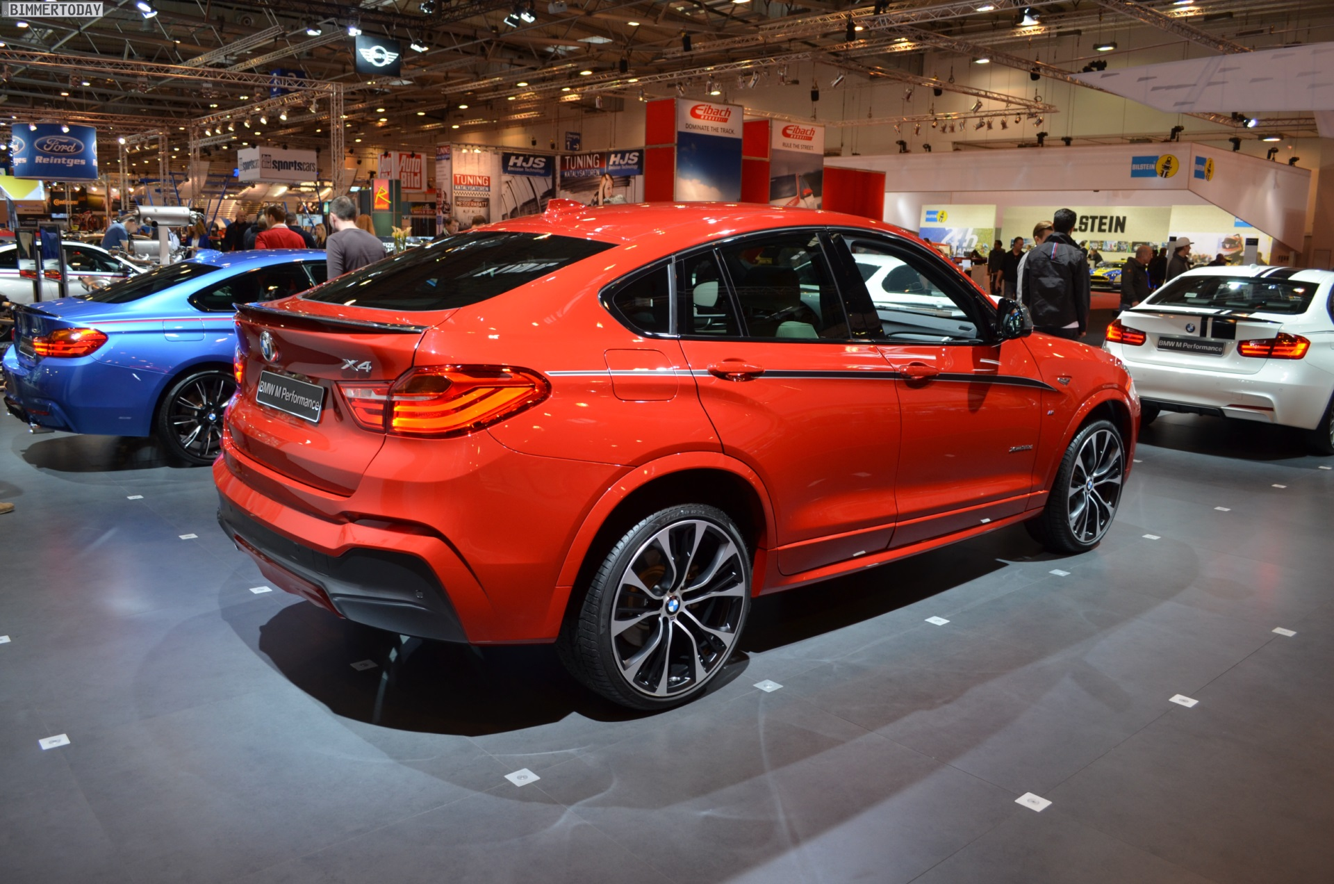 bmw m performance tuning for the bmw x4 at 2014 essen motor showbmw m performance bmw x4 f26 melbourne rot essen 2014 04 750x496