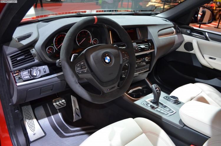 BMW M Performance BMW X4 F26 Melbourne Rot Essen 2014 11 750x496