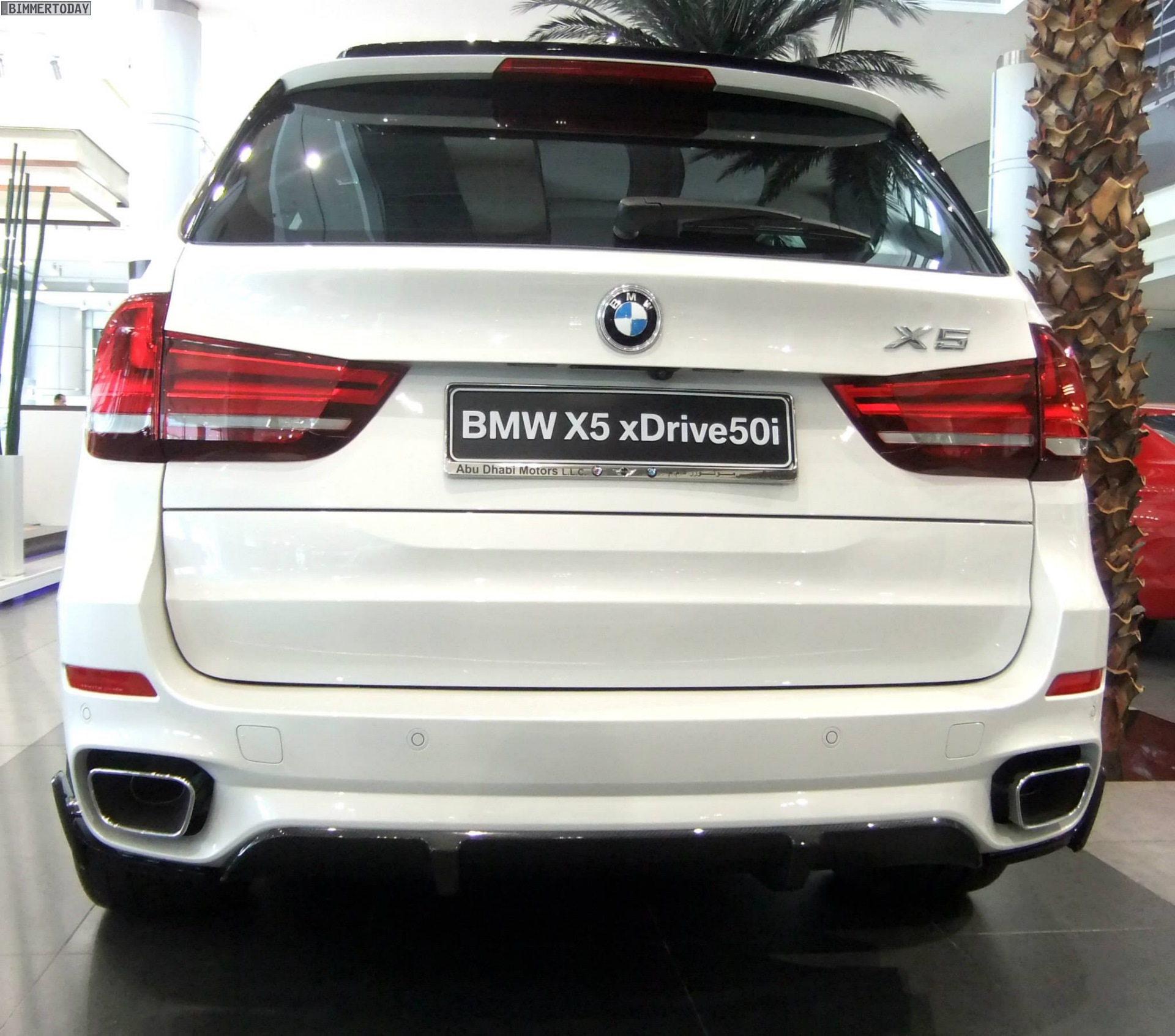 Bmwfort Package Includes: F15 BMW X5 With M Performance Parts