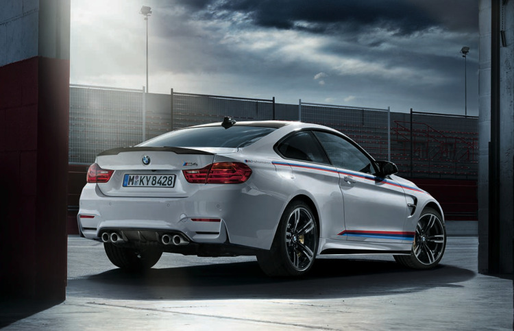 BMW M Performance Zubehoer BMW M4 Coupe F82 Tuning 02 750x483