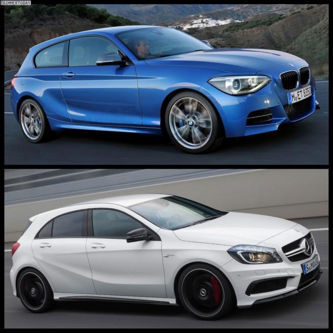 BMW M135i F20 Mercedes A45 AMG 05 655x655