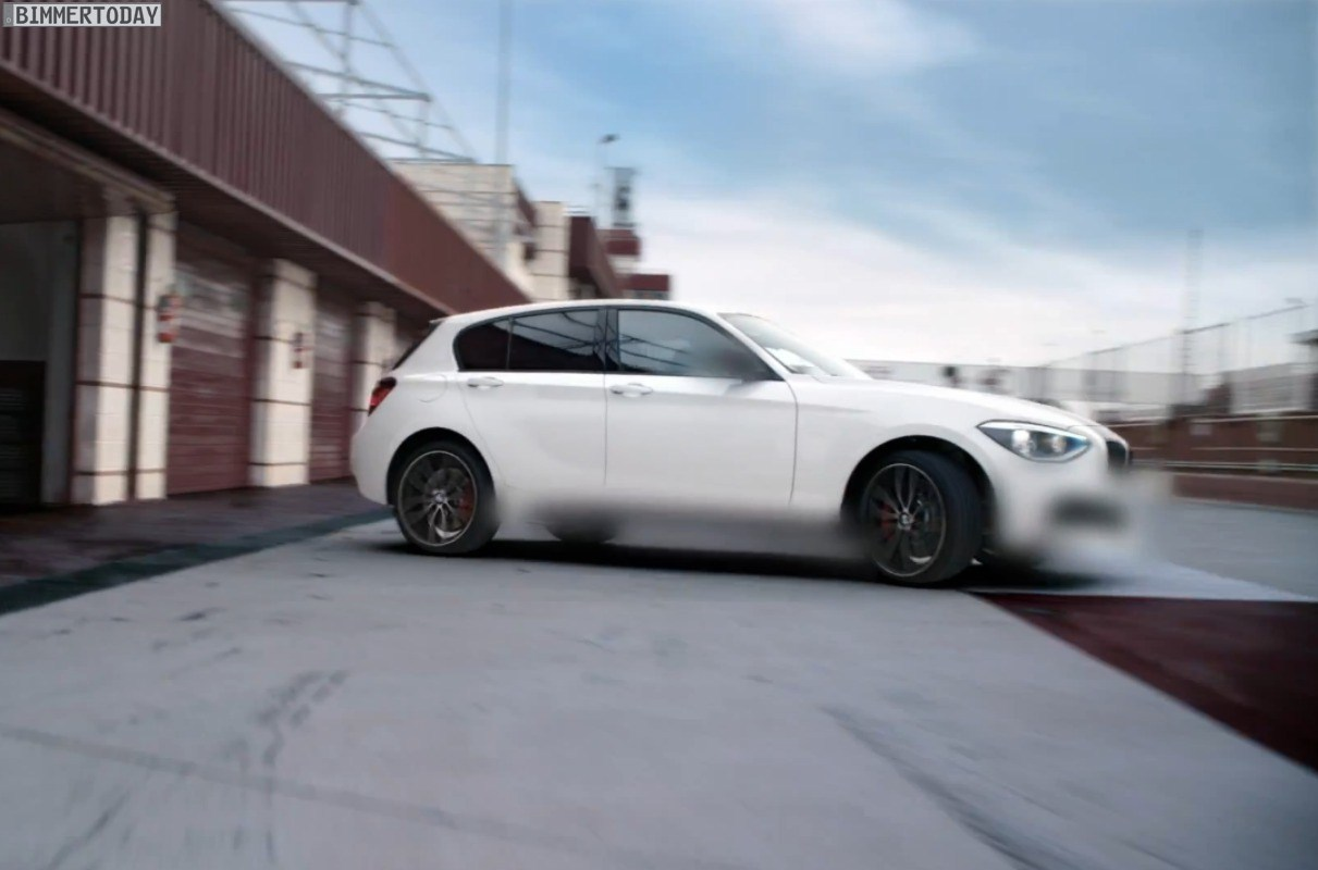 BMW M135i F20 Teaser Video M Performance 01