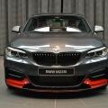 BMW M235i F22 M Performance Zubehoer Tuning Mineralgrau Rot 02 120x120