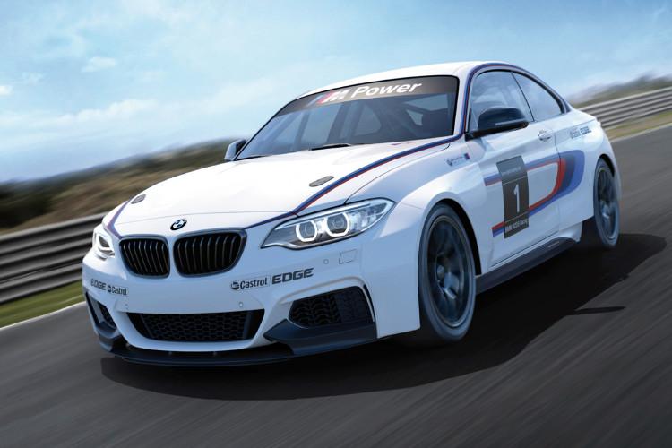 BMW M235i Race Car image 1 750x500