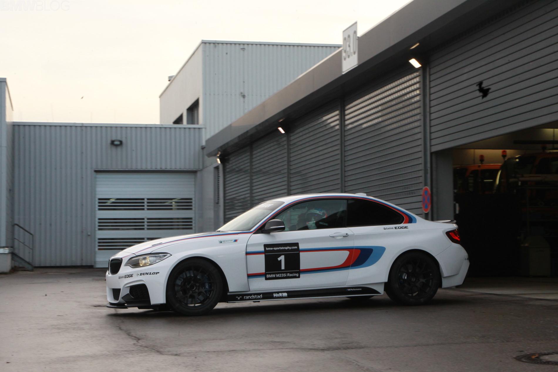 BMW M235i racing car las vegas 08
