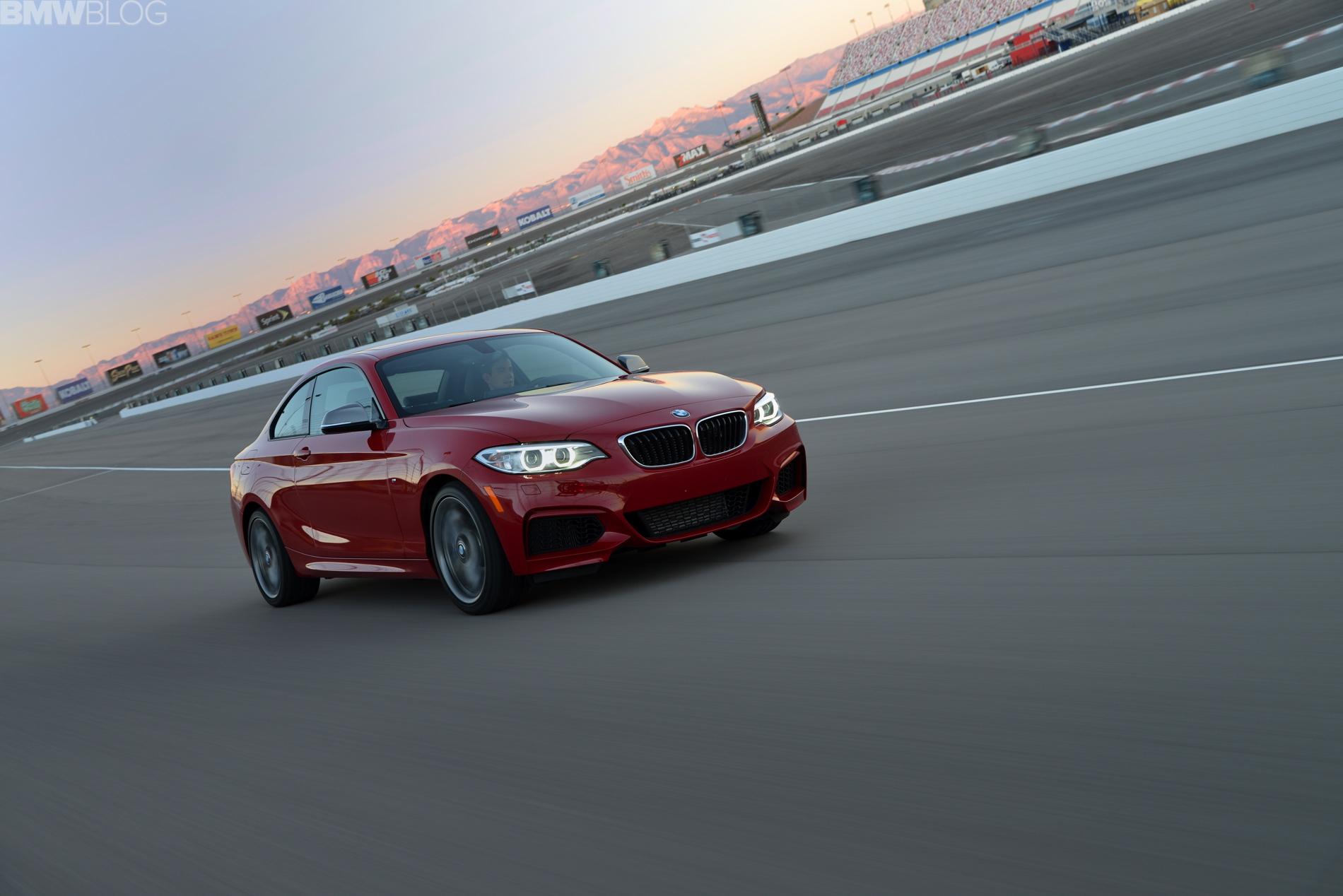 BMW M235i test drive las vegas images 01