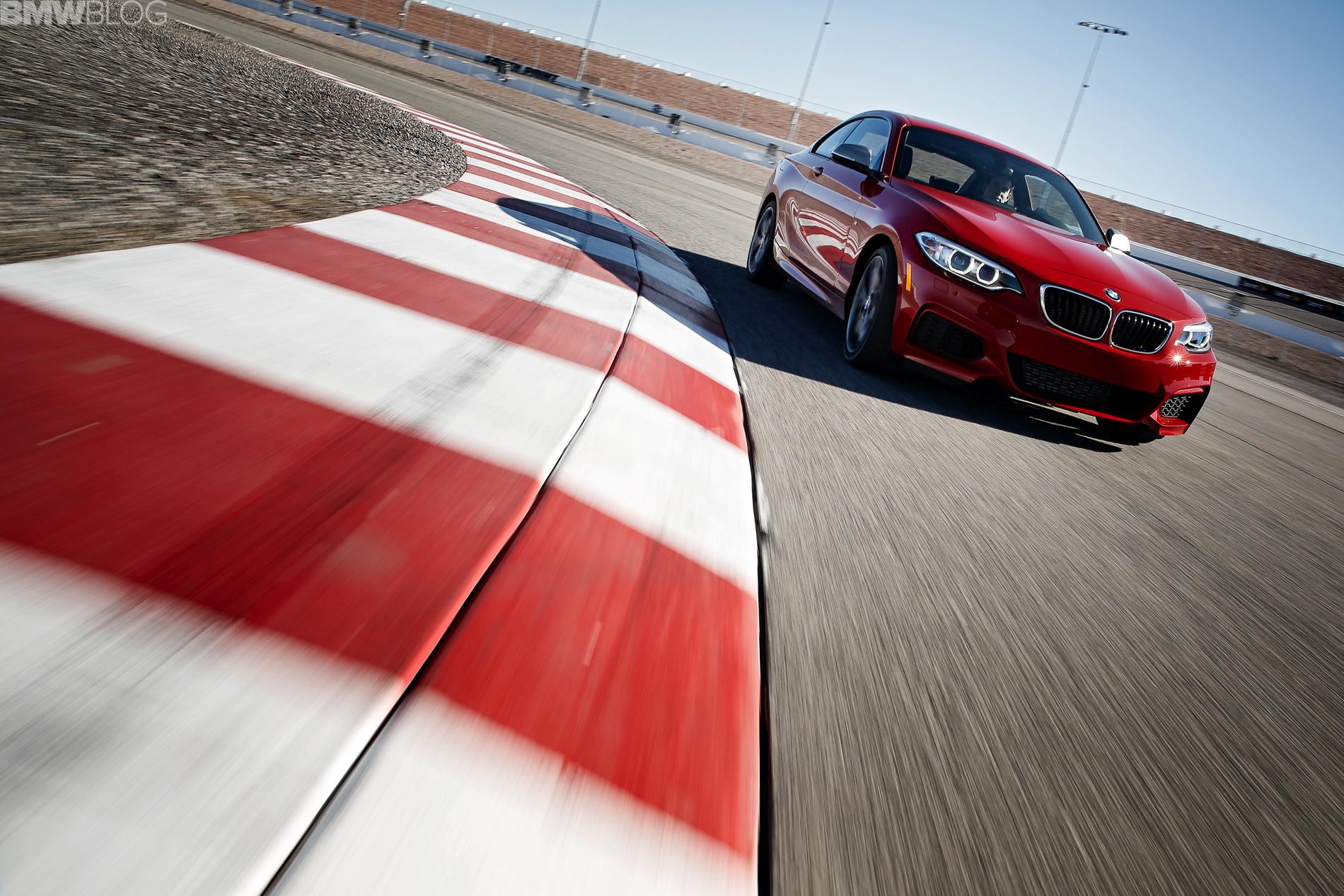 BMW M235i test drive las vegas images 16