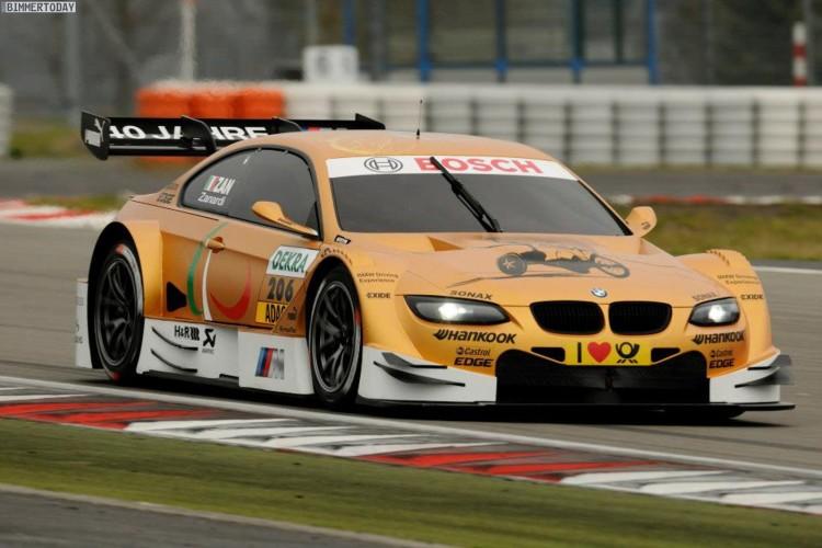 BMW M3 DTM Alex Zanardi Test Nuerburgring 2012 01 750x500