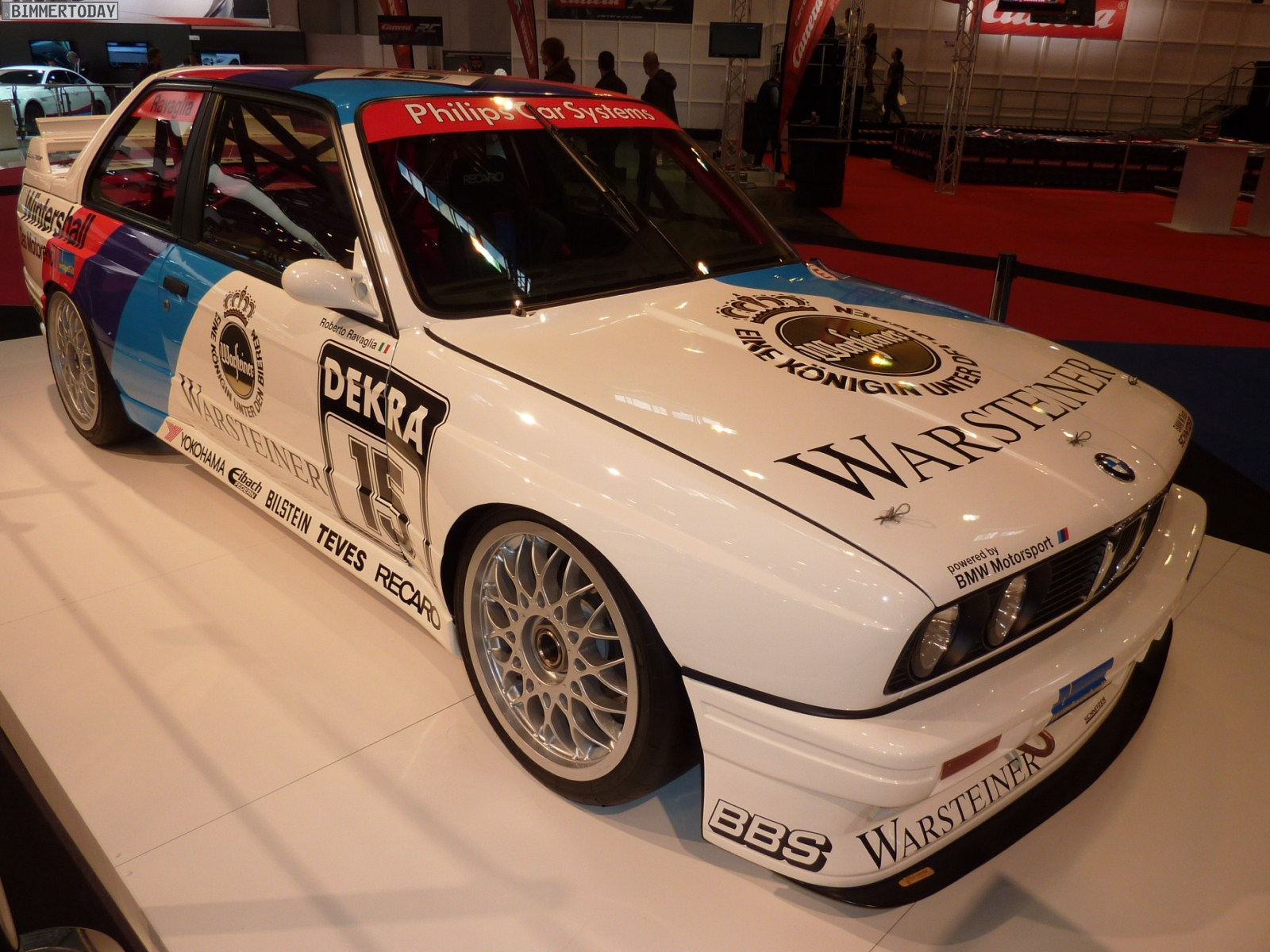 2011 Essen Motor Show Bmw E30 M3 Dtm And M3 E92 Dtm
