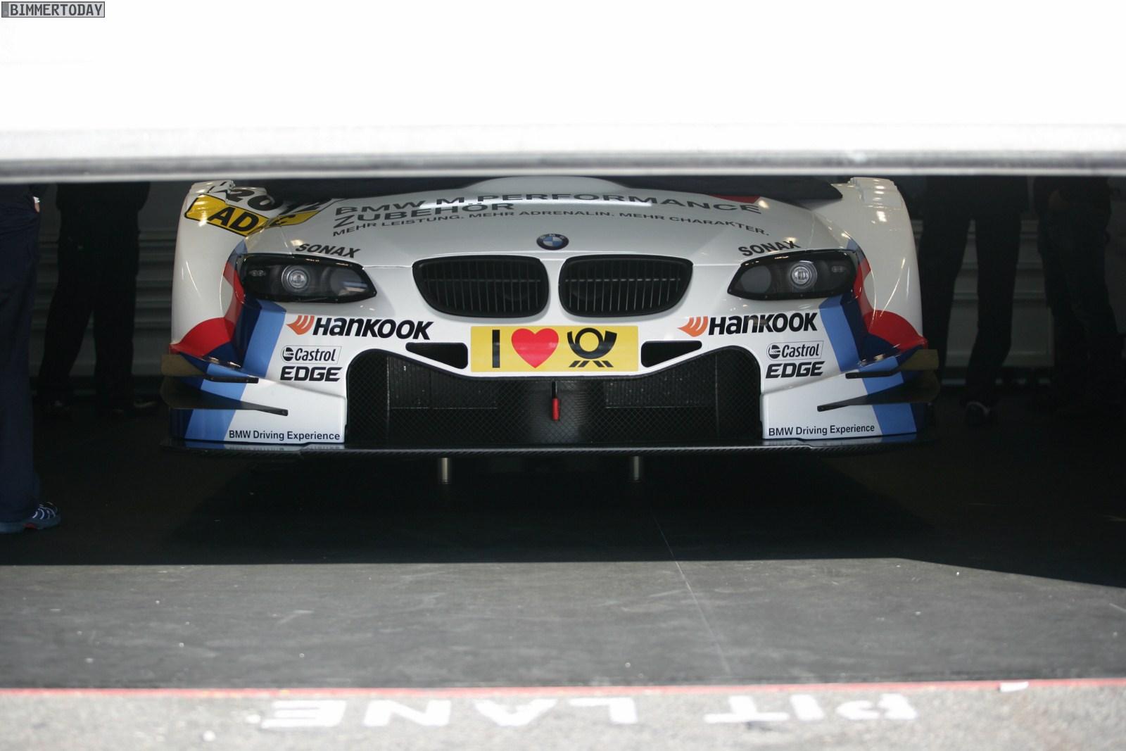 BMW M3 DTM Hockenheim Preview 2011 06