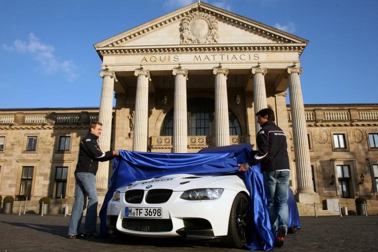 BMW M3 DTM Safety Car Wiesbaden 2012 01 750x500
