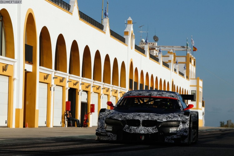 BMW M3 DTM Testfahrten Monteblanco 212 750x500