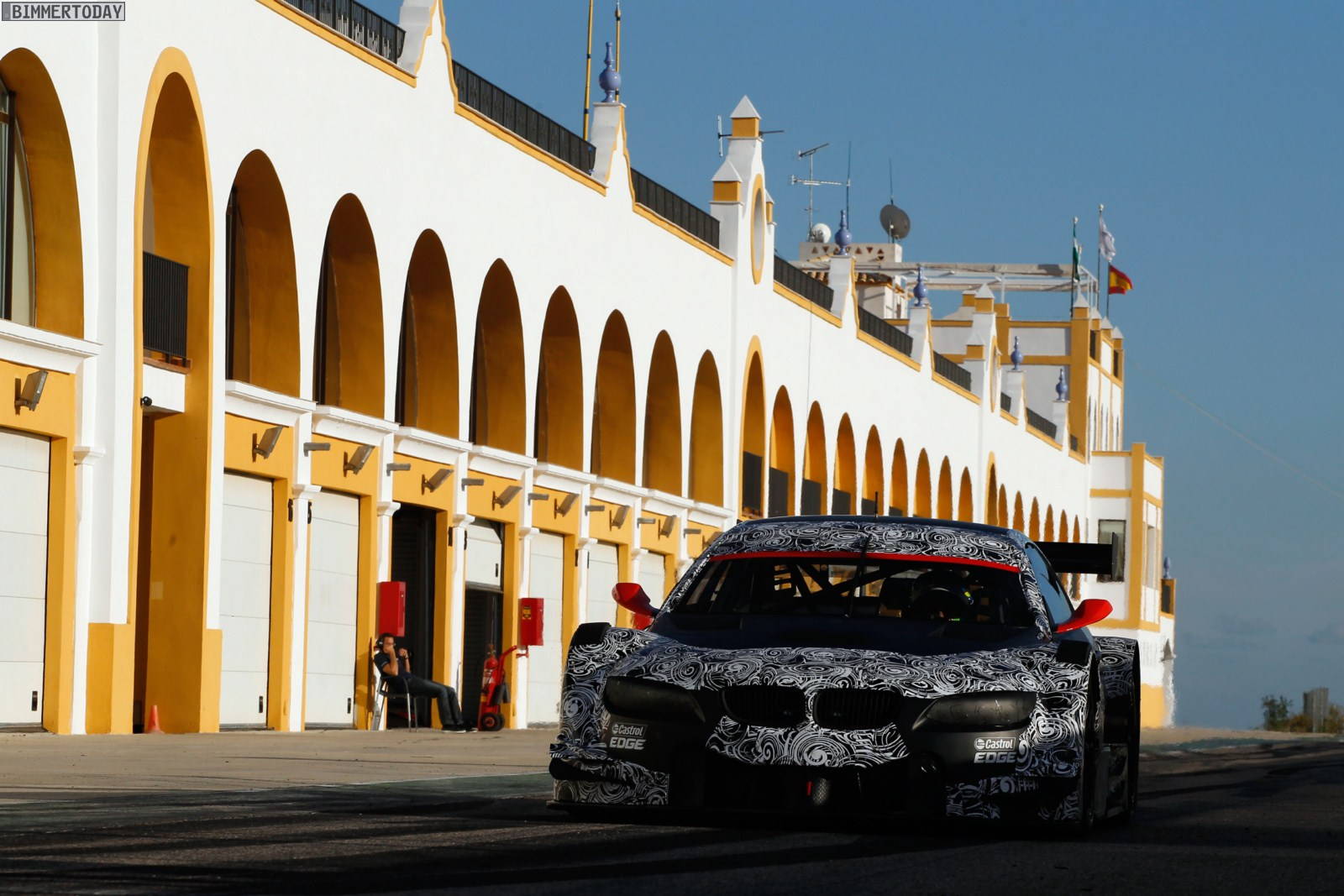 Circuito Monteblanco : First test for martin tomczyk in the bmw m3 dtm
