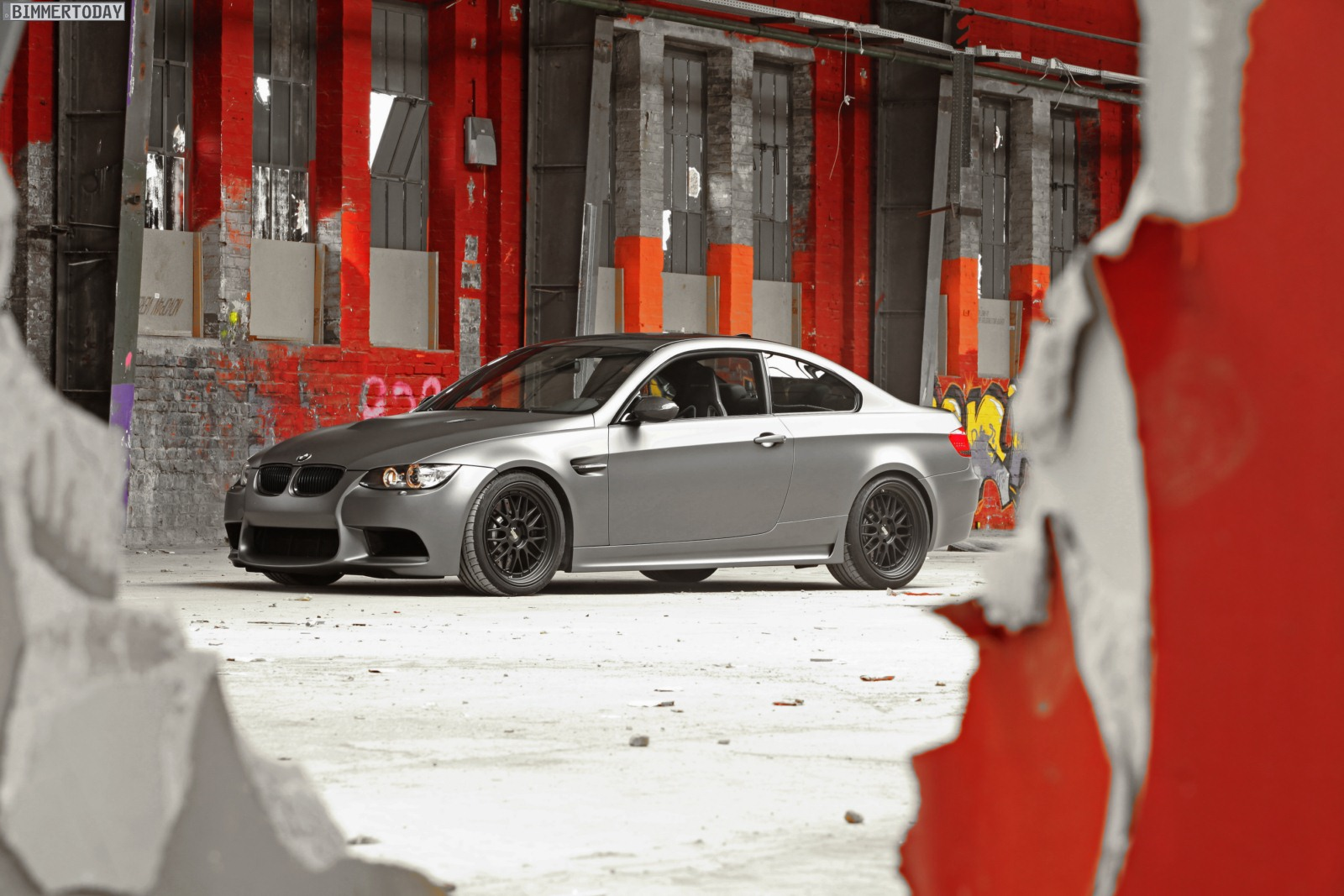 BMW M3 E92 Tuning Camshaft Wrapping Folierung 02