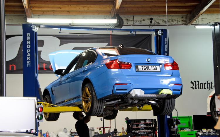 BMW M3 European Auto Source Project Exhaust Installation 1 750x4681